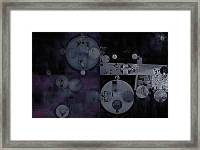 Abstract Painting - Haiti Framed Print