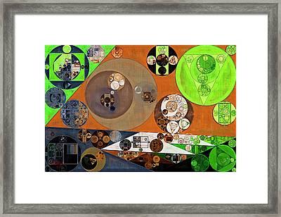 Abstract Painting - Highball Framed Print by Vitaliy Gladkiy