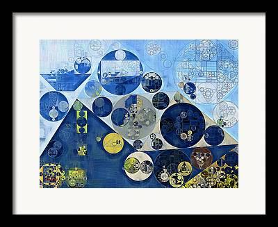 Geometric Images Framed Prints