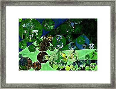 Abstract Painting - La Palma Framed Print by Vitaliy Gladkiy