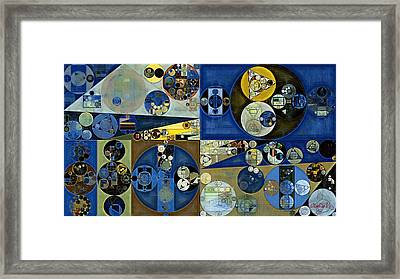 Abstract Painting - Laurel Green Framed Print