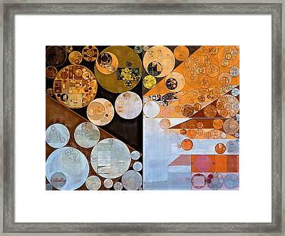 Abstract Painting - Loblolly Framed Print