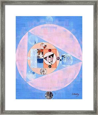 Abstract Painting - Loulou Framed Print by Vitaliy Gladkiy