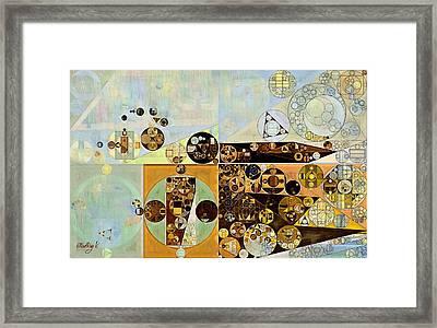 Abstract Painting - Marigold Framed Print by Vitaliy Gladkiy