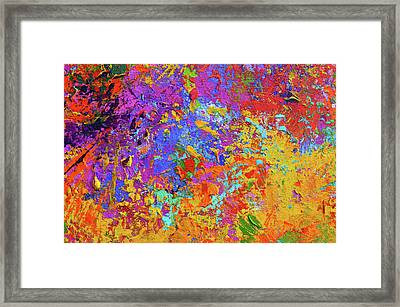 Abstract Painting Modern Art 1 Framed Print by Patricia Awapara