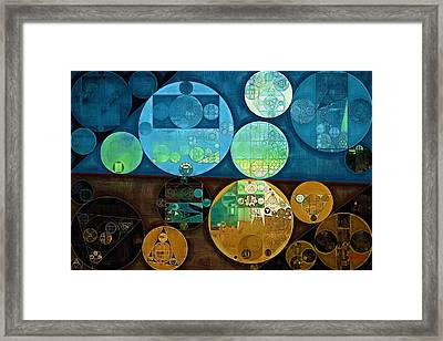 Abstract Painting - Monte Carlo Framed Print