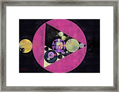Abstract Painting - Mulberry Framed Print by Vitaliy Gladkiy