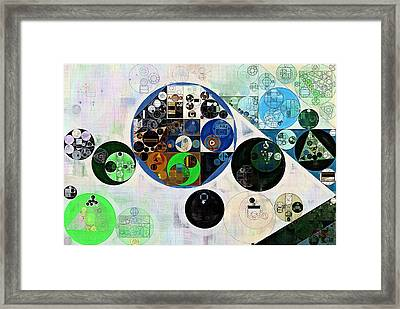 Abstract Painting - Oxley Framed Print by Vitaliy Gladkiy