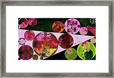 Abstract Painting - Pink Pearl Framed Print by Vitaliy Gladkiy