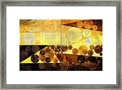 Abstract Painting - Portica Framed Print by Vitaliy Gladkiy