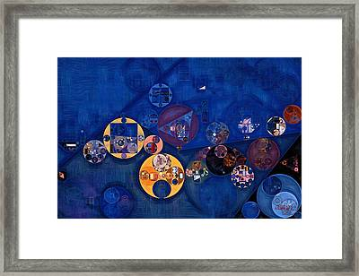 Abstract Painting - Quicksand Framed Print