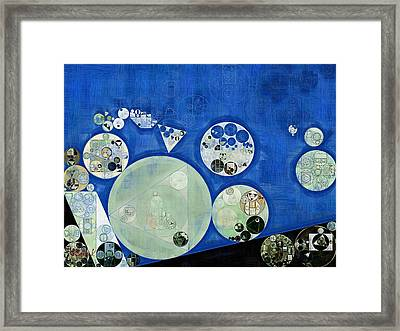Abstract Painting - Rainee Framed Print