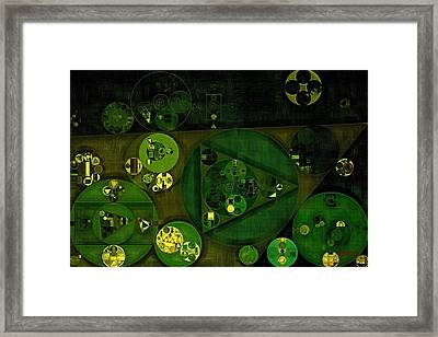 Abstract Painting - Rio Grande Framed Print by Vitaliy Gladkiy