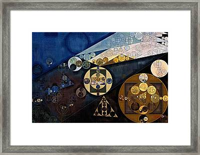 Abstract Painting - Rock Framed Print