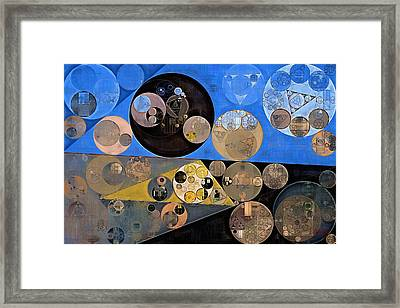 Abstract Painting - Sand Dune Framed Print