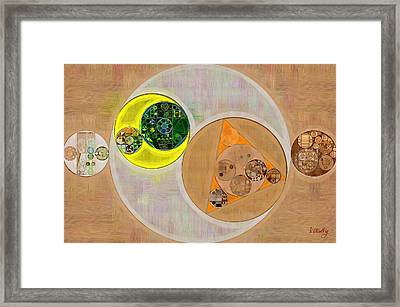Abstract Painting - Sour Dough Framed Print by Vitaliy Gladkiy