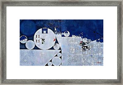 Abstract Painting - Spindle Framed Print by Vitaliy Gladkiy