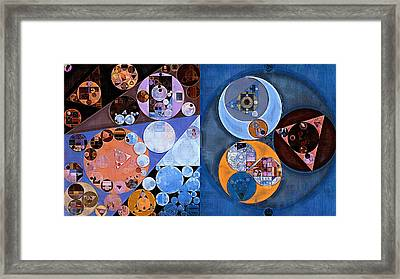 Abstract Painting - St Tropaz Framed Print