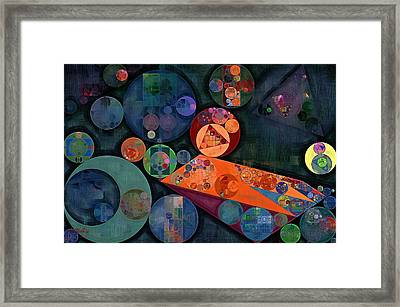 Abstract Painting - Tango Framed Print