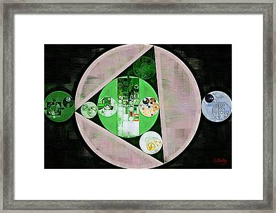 Abstract Painting - Tide Framed Print