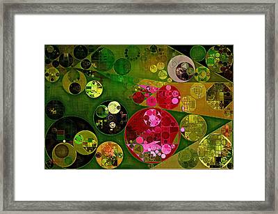 Abstract Painting - Twine Framed Print