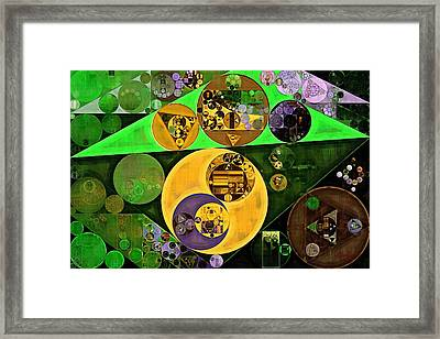 Abstract Painting - Vida Loca Framed Print by Vitaliy Gladkiy