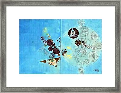 Abstract Painting - Viking Framed Print by Vitaliy Gladkiy