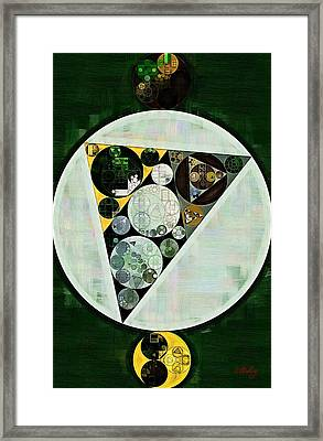 Abstract Painting - Willow Grove Framed Print by Vitaliy Gladkiy