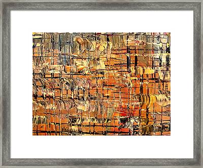 Abstract Part By Rafi Talby Framed Print by Rafi Talby