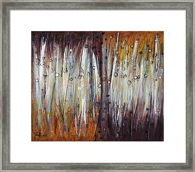 Abstract Patterns One Framed Print