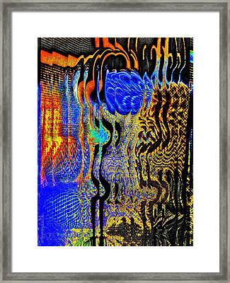 Framed Print featuring the photograph Abstract Photography 001-16 by Mimulux patricia no No