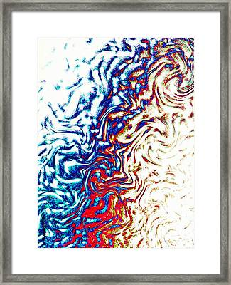Framed Print featuring the photograph Abstract Photography 002-16 by Mimulux patricia no No