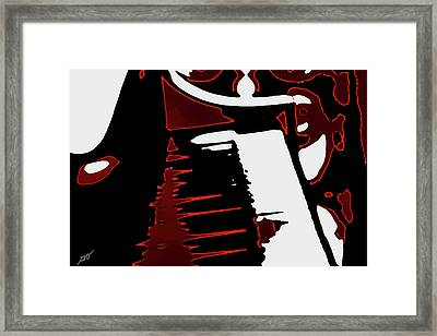 Abstract Piano Framed Print