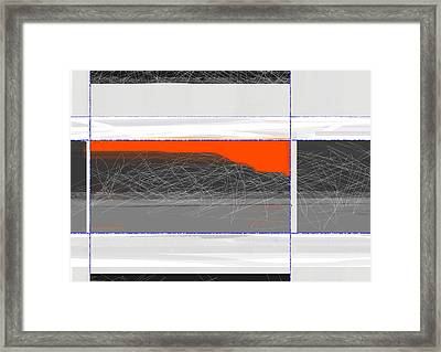 Abstract Planes Framed Print by Naxart Studio