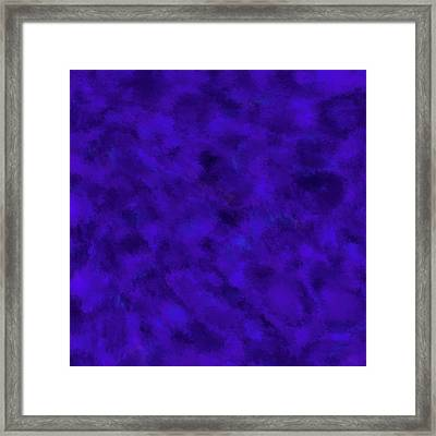Abstract Purple 7 Framed Print