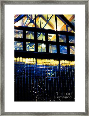 Abstract Reflections Digital Art #5 Framed Print by Robyn King