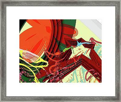 Abstract Rhetoric Framed Print