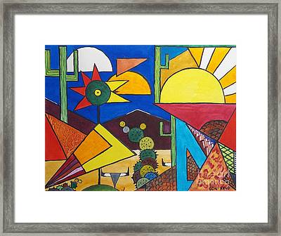 Abstract  Framed Print by Don Hand