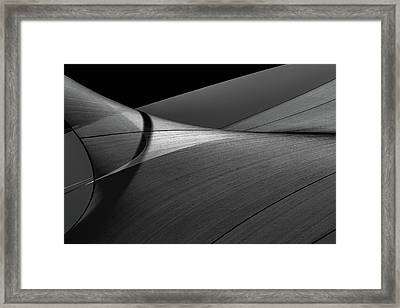 Framed Print featuring the photograph Abstract Sailcloth 200 by Bob Orsillo