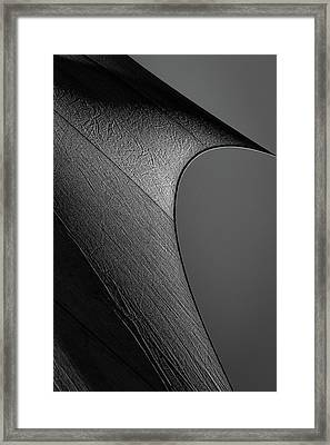 Framed Print featuring the photograph Abstract Sailcloth 201 by Bob Orsillo
