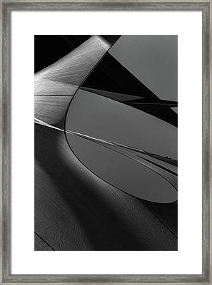 Framed Print featuring the photograph Abstract Sailcloth 202 by Bob Orsillo