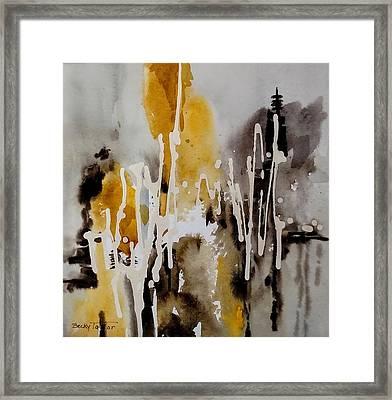Abstract Scene Framed Print