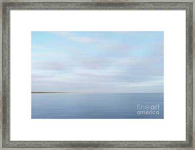 Framed Print featuring the photograph Abstract Seascape by Ivy Ho