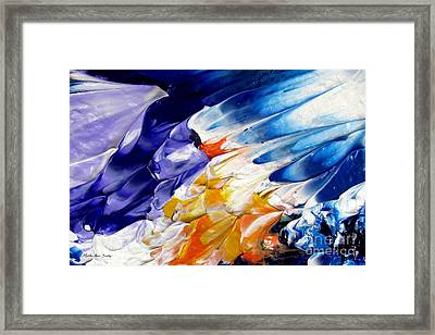 Abstract Series 0615a-4-l1 Framed Print