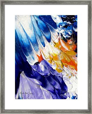 Abstract Series 0615a-6p2 Framed Print