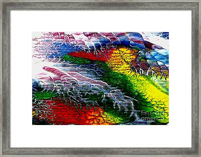Abstract Series 0615a Framed Print