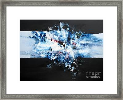 Abstract Series #103 Framed Print by Jerry Stangl
