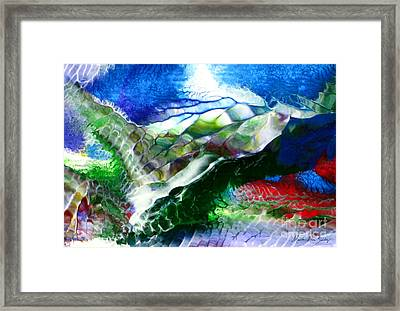 Abstract Series B Framed Print