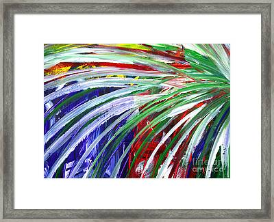 Abstract Series C1015bl Framed Print