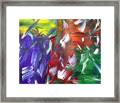 Abstract Series E1015al Framed Print